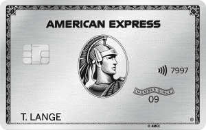 American Express Platinum Card mit Status