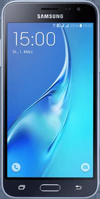 Blau All-In + Galaxy J3 (2016) schwarz