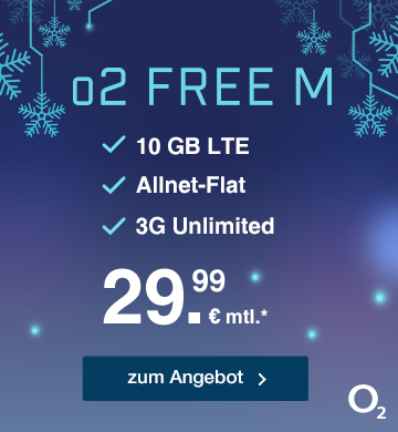 o2 Free M mit 10 GB